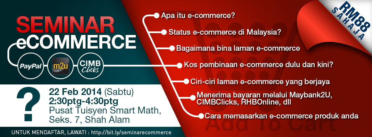 My first e-commerce seminar in Malaysia